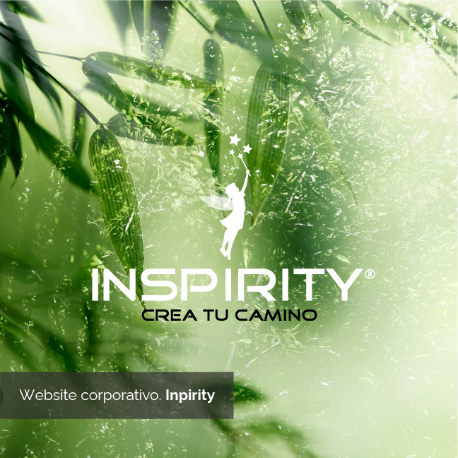 website Corporativo. Inspirity. | Bingin Design. Diseño y desarrollo web en Fuerteventura.