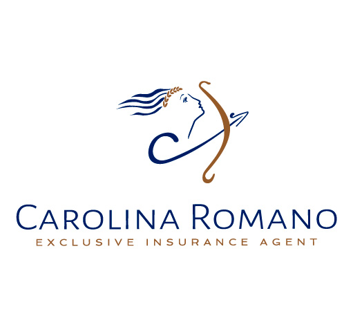 Logotipo de Carolina Romano. Bingin Design.