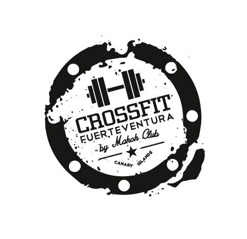 Logotipo de Crossfit Fuerteventura. Bingin Design.