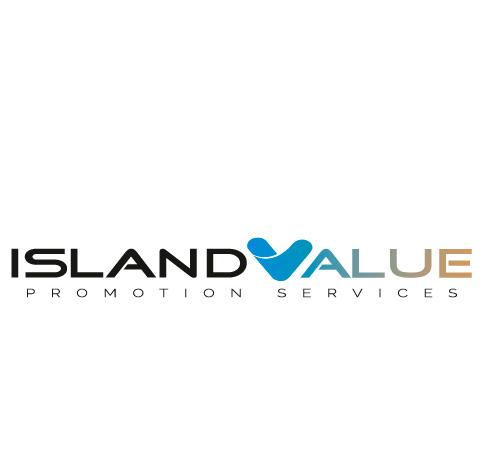 Logotipo de Island Value. Bingin Design.