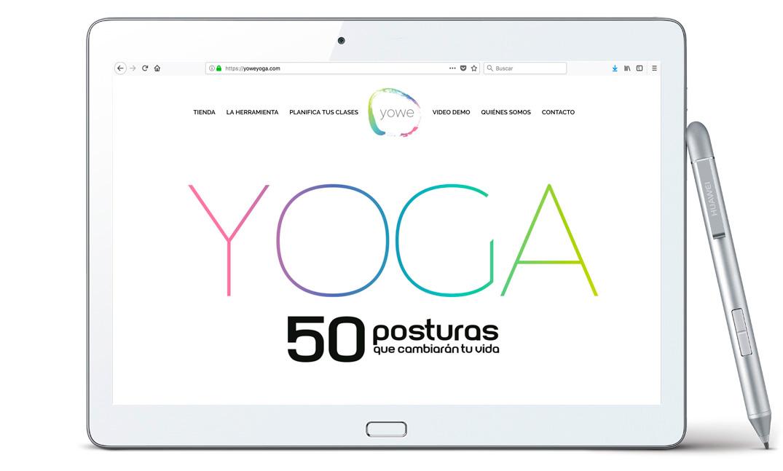 Diseño de Web Corporativa para Yowe Yoga | Bingin Design