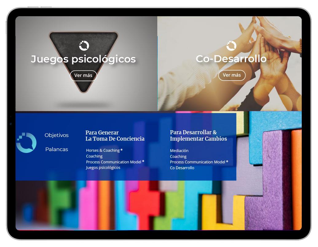 Diseño de Web Corporativa para Lead Your Communication | bingin Design